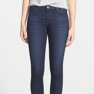 AG The Legging Crop Dark Rinse Jeans 29R NWT